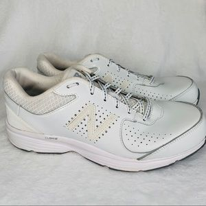 New Balance White Walking Shoes Sneakers 12